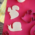 Sugar Cookie Homemade Playdough