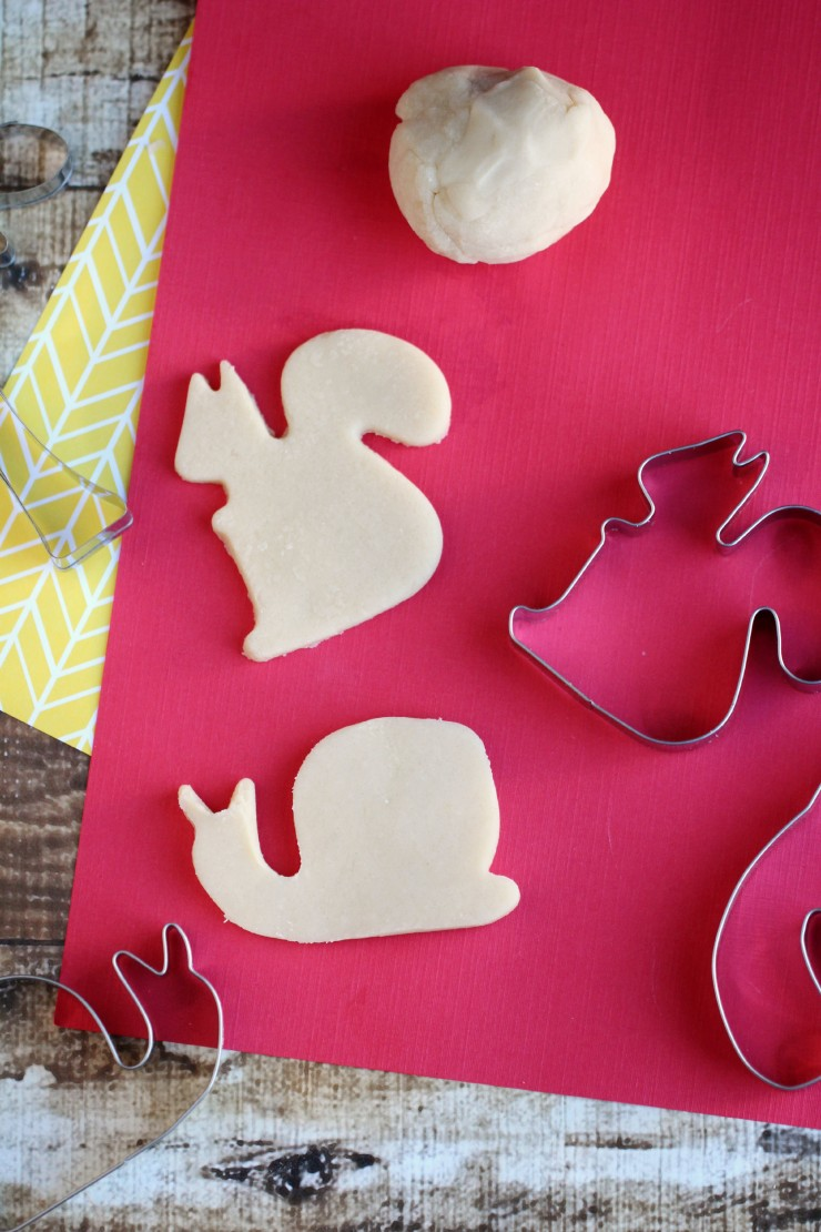 This Sugar Cookie Homemade Play dough recipe is not only edible, it also smells great too! Kids will love playing with this fun scented homemade playdough!