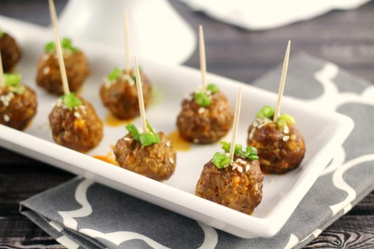 Thai Cocktail Meatballs