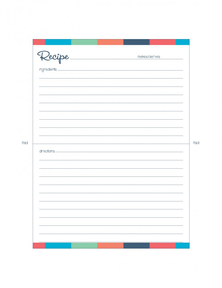 Free Printable Meal Planner Kitchen Set - Frugal Mom Eh!