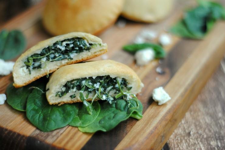 Spinach Feta Hand Pies Recipe
