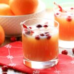 Non-Alcoholic Cranberry Orange Spritzer