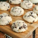 Mint Cake Mix Cookies