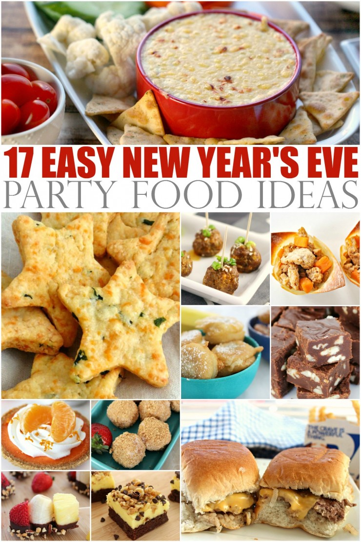 17 Easy New Years Eve Party Food Ideas!