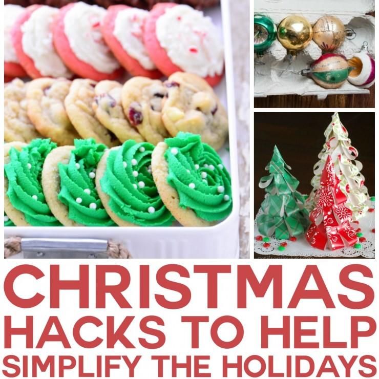 Christmas Hacks to Simplify the Holidays