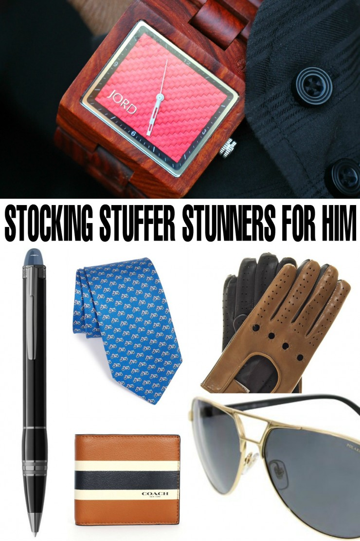 10 Stocking Stuffer Stunners for him that will really wow him!