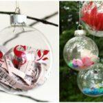 15 Fun Ways to Fill Glass Ornaments