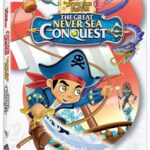 Captain Jake and The Neverland Pirates: The Great Neversea Conquest DVD