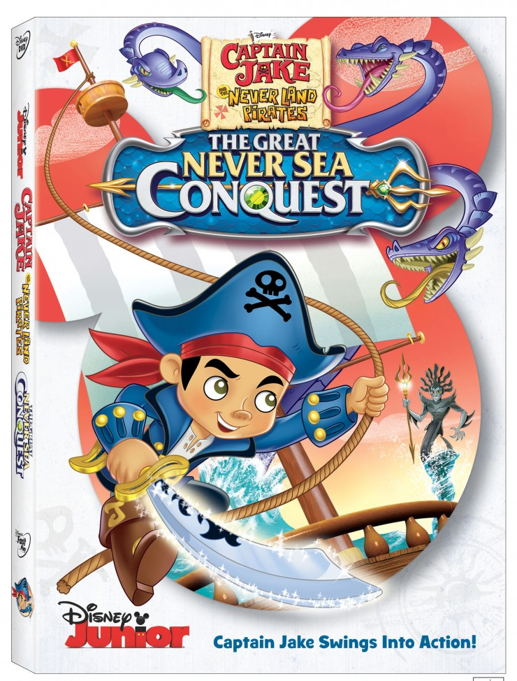 Captain Jake And The Never Land Pirates The Great Neve rSea Conquest DVD