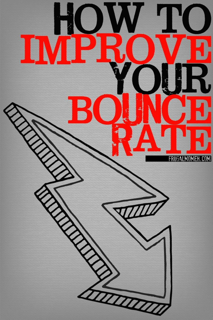 How to Improve Your Bounce Rate and in the end boost your pageviews with these easy to implement blog tips!