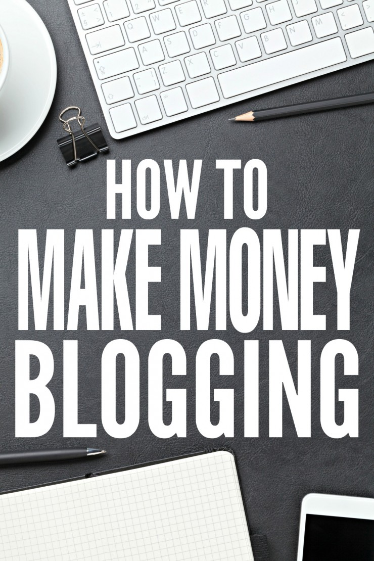 How To Make Money Blogging - Setting yourself up for success and creating income streams.Learn how I make a full-time income from my blog!
