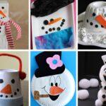 Snowman Crafts & Activities for Kids