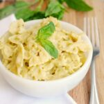 Pesto Stovetop Mac and Cheese