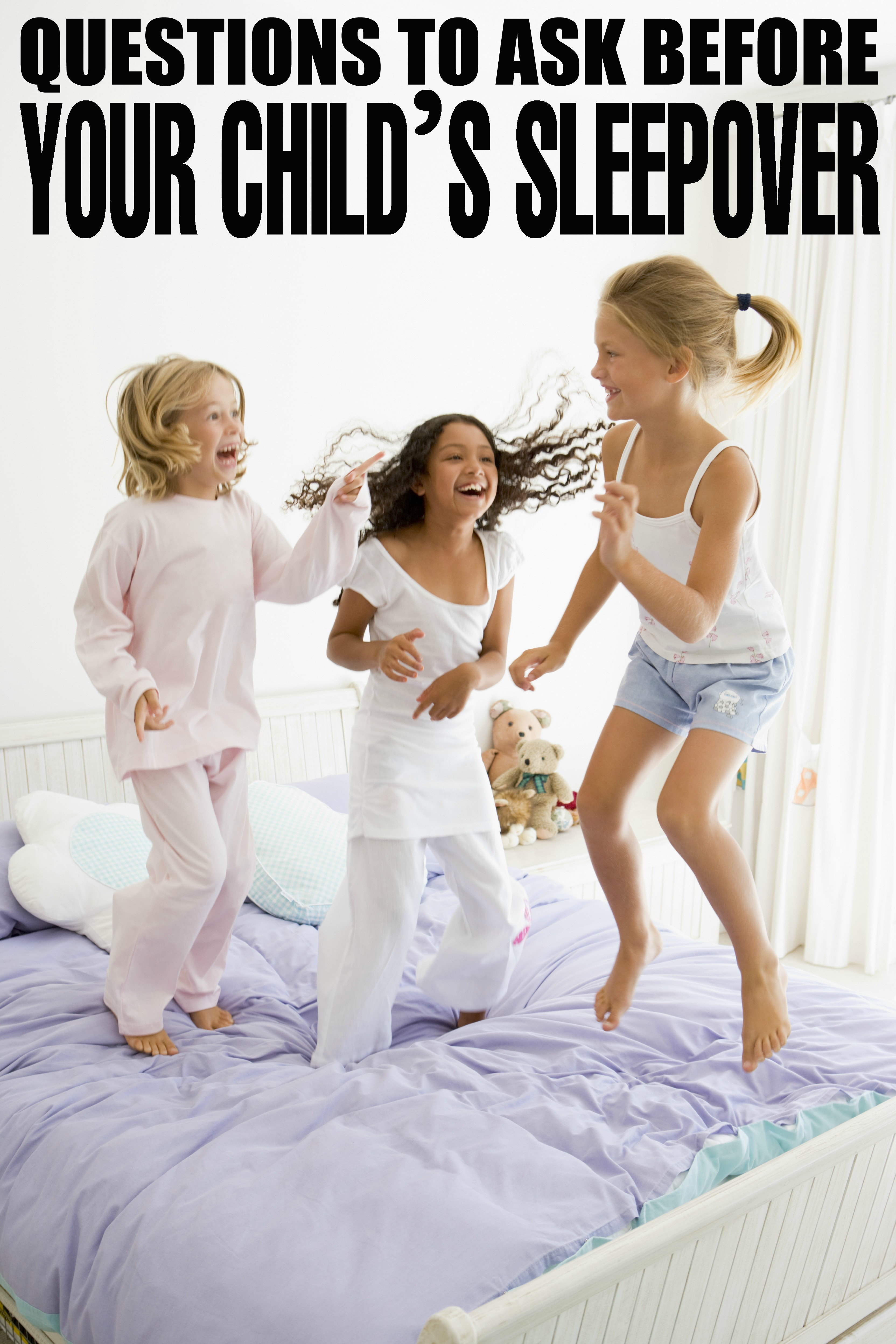 Questions to Ask Before your Child's Sleepover