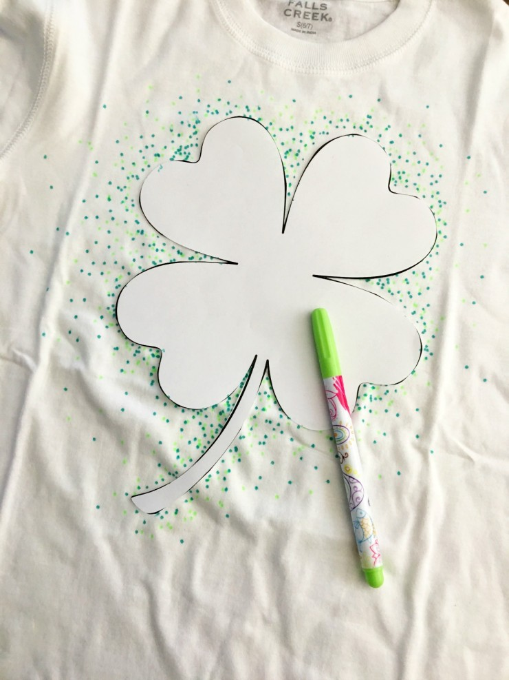 Make Your Own St Patricks Day Shirt
