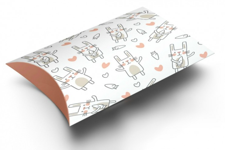 Free Printable Easter Pillow Box Template