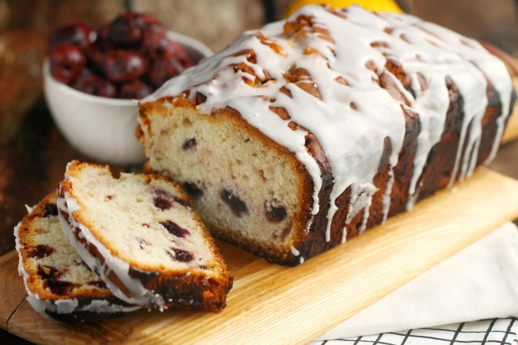 Cherry-Lemon Muffin Bread