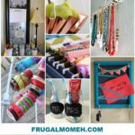 Easy & Clever DIY Organization Ideas
