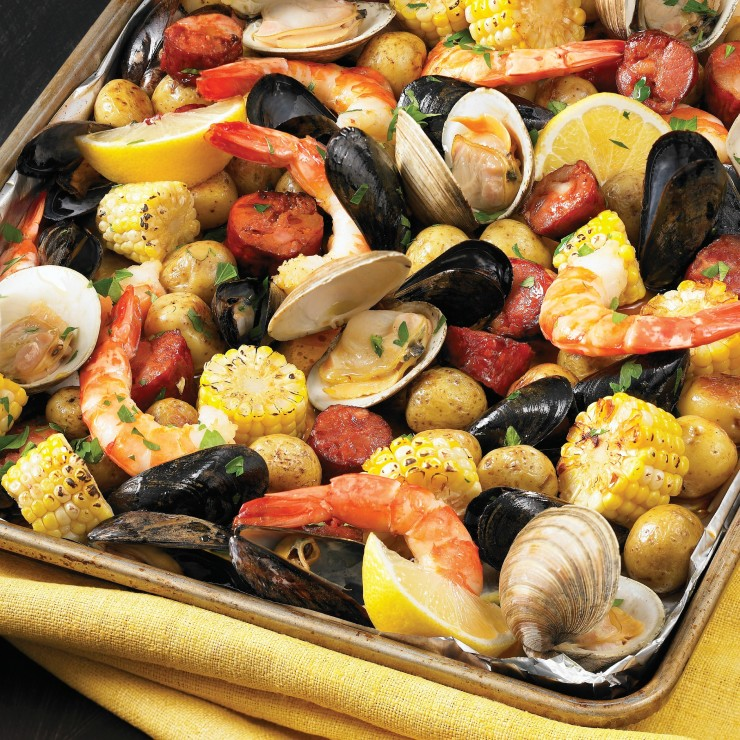 200 best sheet pan meals sheet pan clam bake recipe frugal mom eh forumfinder Image collections