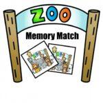 Free Printable Zoo Memory Match Game