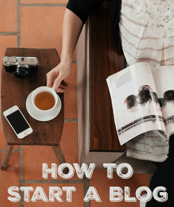How to start a blog and start earning income from home. Learn how I make a full-time income, and how to start your own blog!