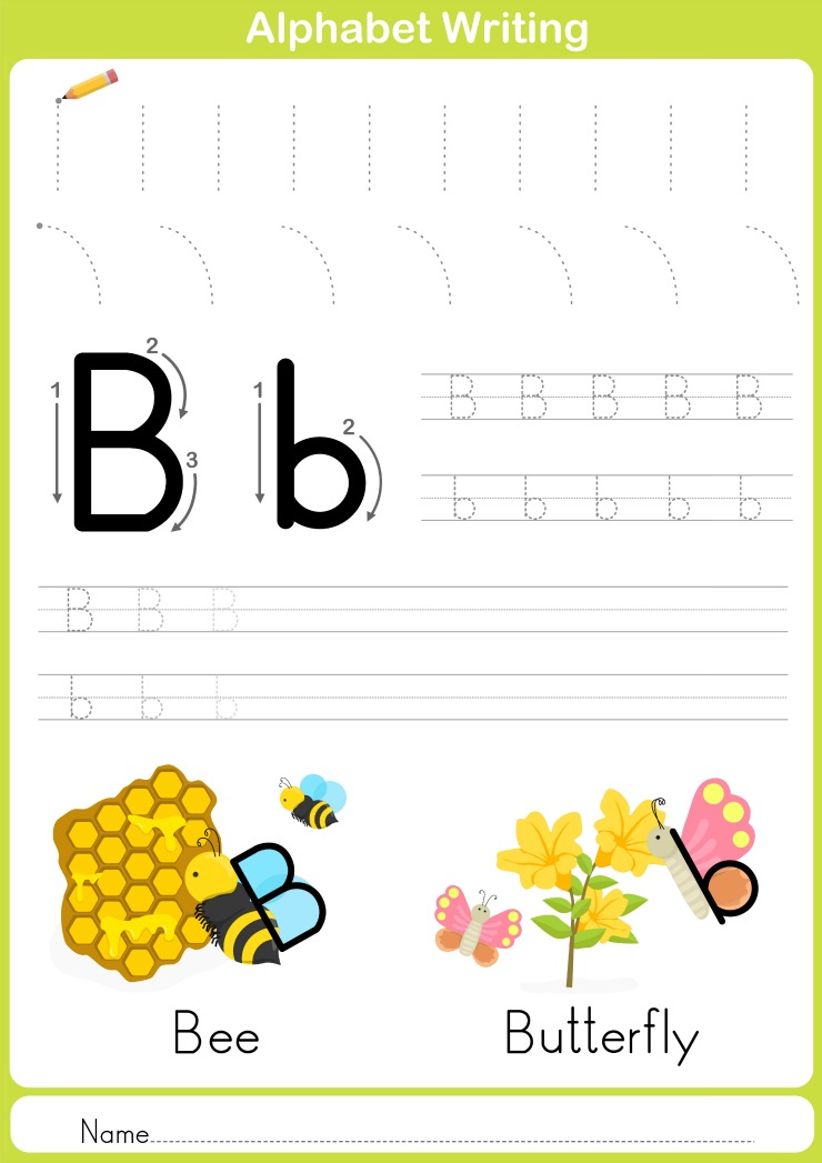Free Printable Handwriting Worksheets Including Pre-Writing Practice -  Frugal Mom Eh!