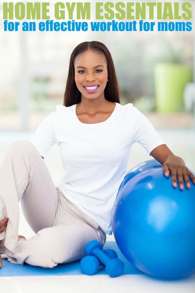 Home gym essentials for an effective workout moms