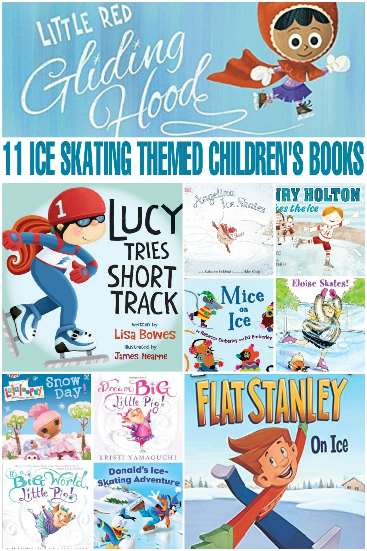 These 11 Ice Skating Themed Children's Books work well for children 3-5 and are a great way to reinforce basic reading skills in a fun way.