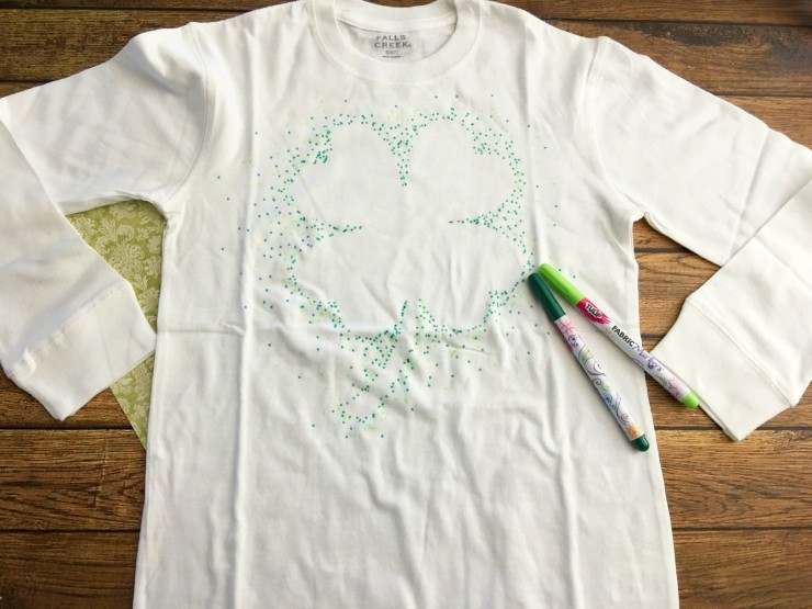 Make Your Own St Patricks Day Shirt