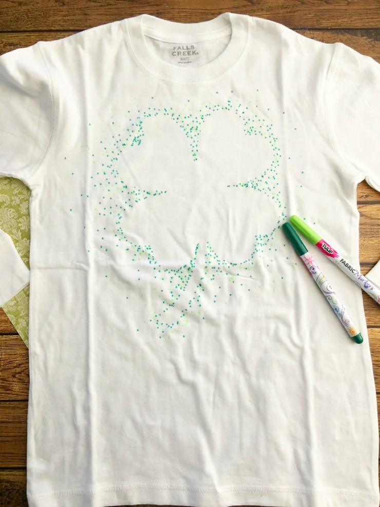 Make Your Own St Patricks Day Shirt Frugal Mom Eh