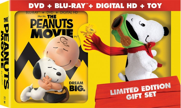 The Peanuts Movie Limited Edition Gift Set Giveaway | CAN/USA | Ends April 03, ,2016 at 11:59 pm EST.