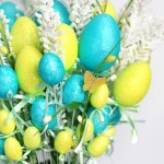 Easy Easter Egg Flower Arrangement
