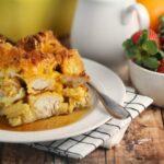 Chicken and Waffles Casserole