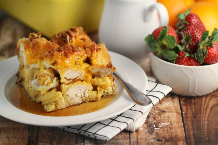 Fried Chicken And Waffles: Chicken And Waffles Casserole