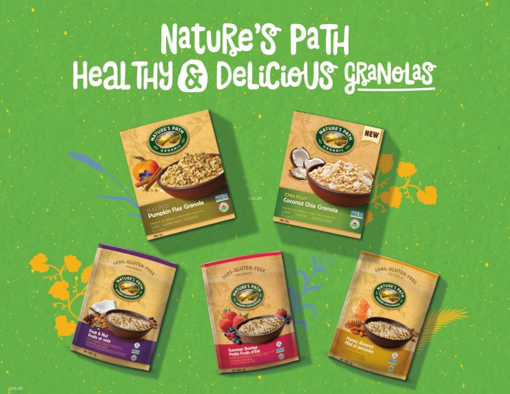 Nature's Path Giveaway Prize Pack - Ends March 13th 2016 at 11:59 pm EST - Canada & USA Only