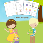 Easter Themed Kindergarten Math Worksheets