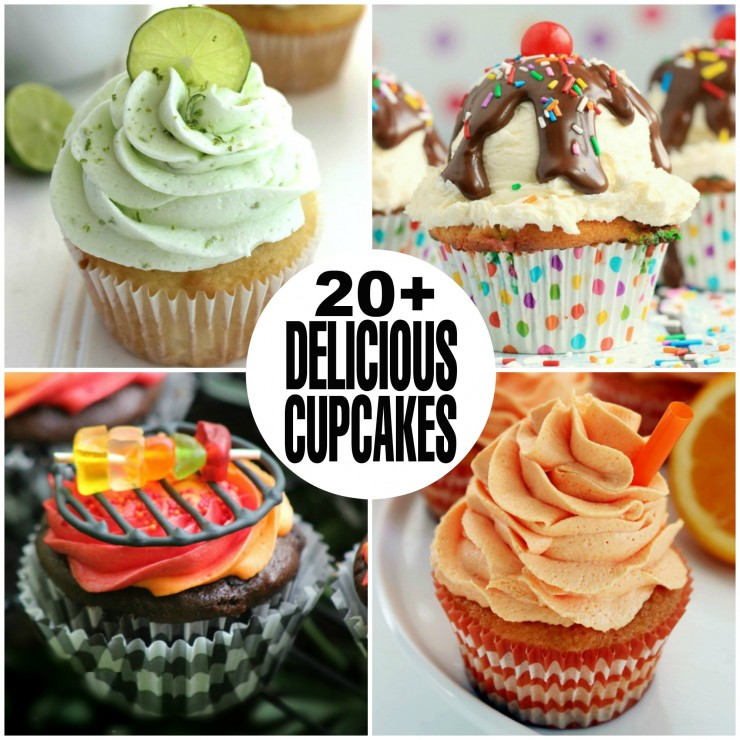 20+ Incredibly Delicious Cupcake Recipes