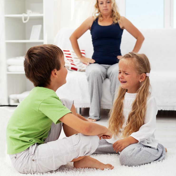 What Is Sibling Rivalry, What Causes It, and How to Deal with Sibling Rivalry among your children and handle conflicts between your children.