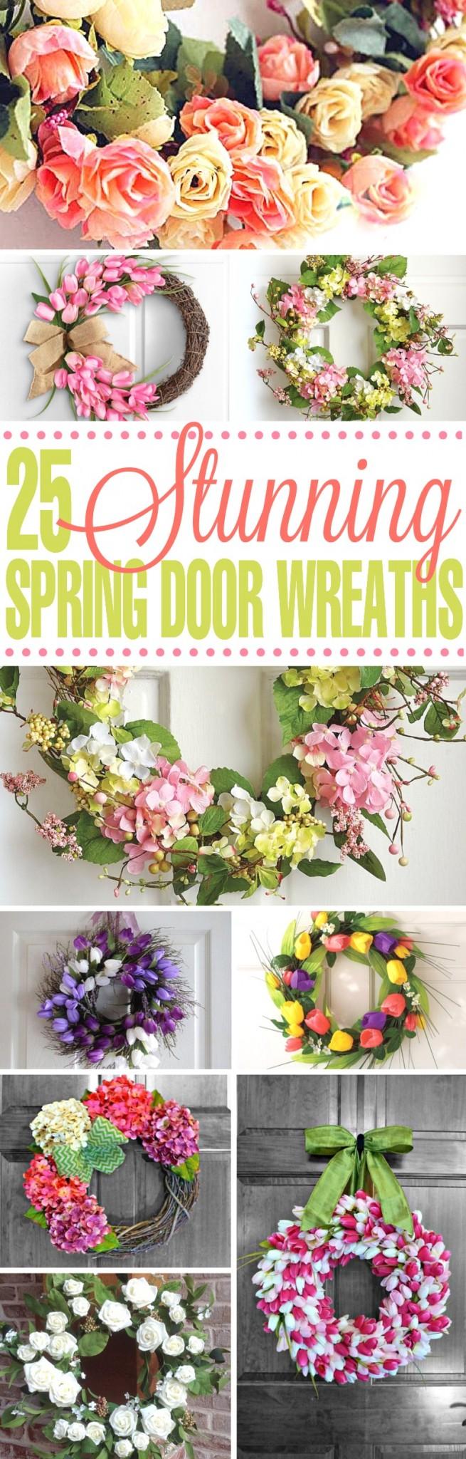 Spring-Door-Wreaths