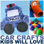 18 Car Crafts for Kids