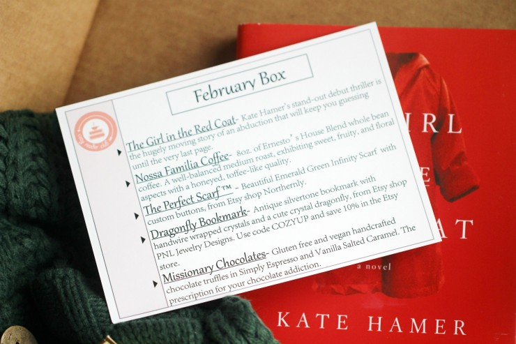 """Give yourself the gift of """"me"""" time with a Cozy Reader Club Subscription"""