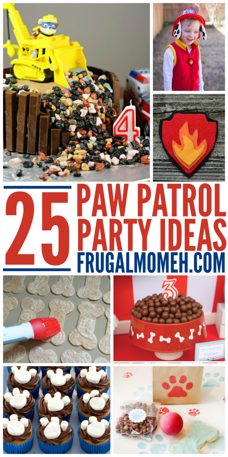 25 Paw Patrol Party Ideas - Frugal Mom Eh!
