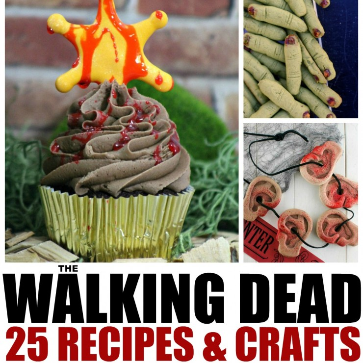 The walking dead 25 recipes and crafts for a zombie approved party the walking dead 25 recipes and crafts for a zombie approved party frugal mom eh forumfinder