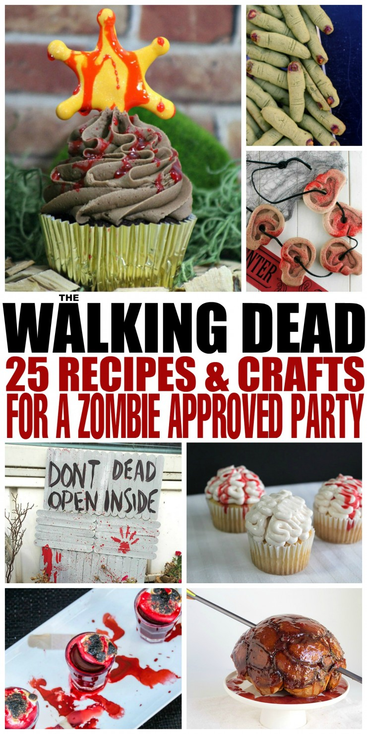 The walking dead 25 recipes and crafts for a zombie approved party throw an unforgettable viewing party for the walking dead at home with these 25 recipes and forumfinder
