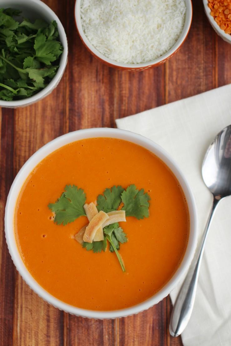 Coconut-Tomato-Soup