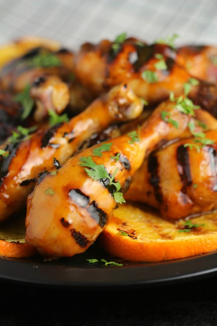 Orange-Glazed-BBQ-Chicken-Drumsticks 1