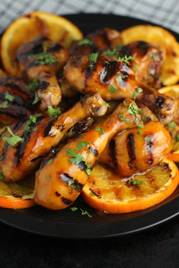 Orange-Glazed-BBQ-Chicken-Drumsticks 5