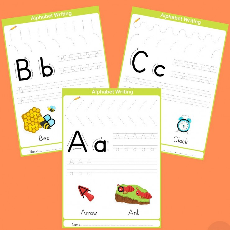 Free Printable Handwriting Worksheets Including Pre Writing Practice