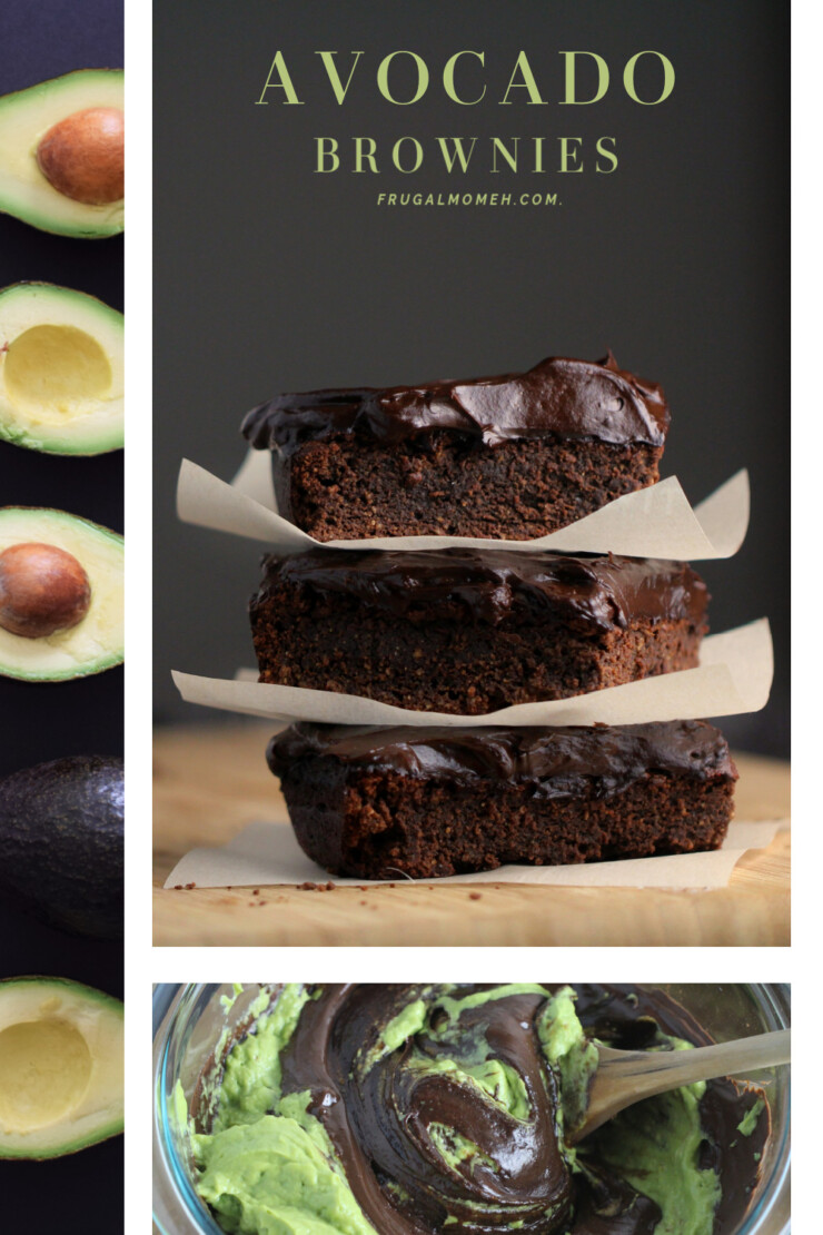 These Fudgy Avocado Brownies with Avocado Frosting are an incredible gluten-free brownie, that is keto friendly too.