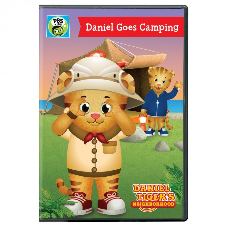 The new Daniel Tiger s Neighbourhood  Daniel Goes Camping DVD features  three stories from the hit PBS KIDS series DANIEL TIGER S NEIGHBORHOOD cbd7651a1